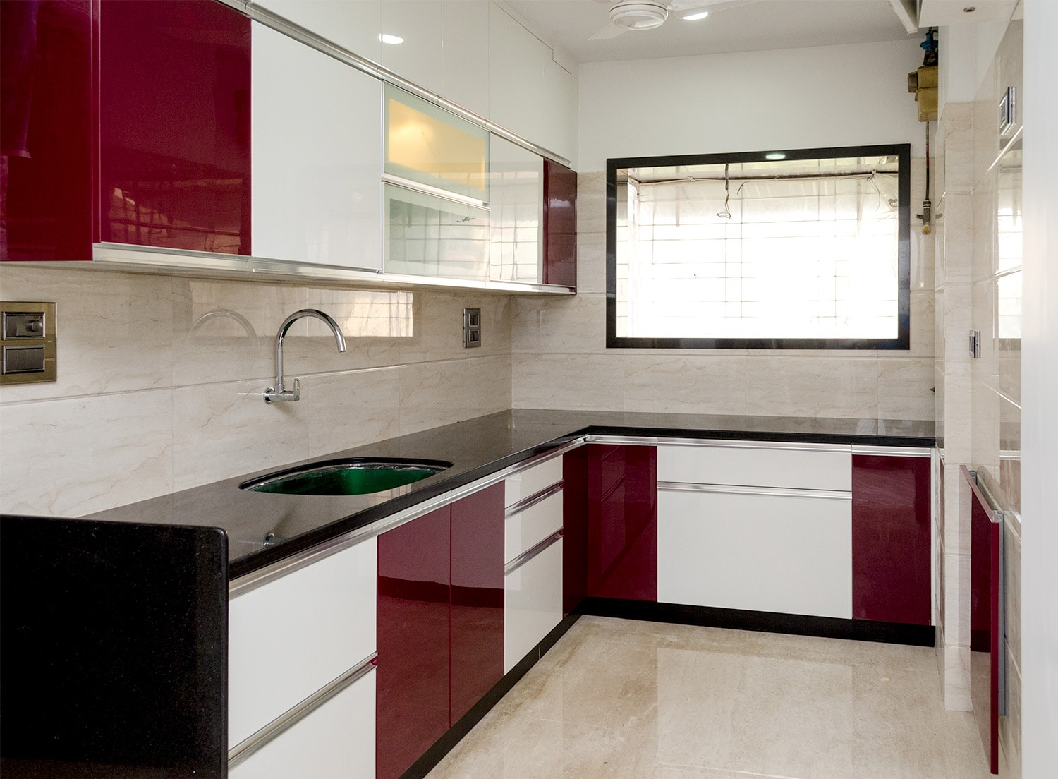 Home interiors by homelane modular kitchens wardrobes storage units design services Kitchen design mumbai pictures