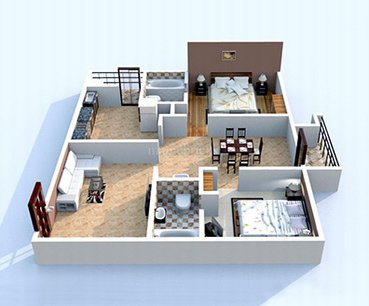 Aparna Cyber Commune Apartments Hyderabad Interior Designers HomeLane