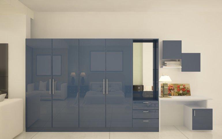 Buy paprika multifunctional hinged wardrobe online for Bedroom cupboard designs in hyderabad
