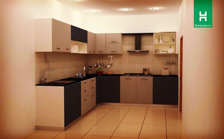 L Shaped Kitchen Design India Myshindigs
