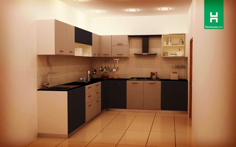Buy Heron Large L Shaped Kitchen Online Homelane India
