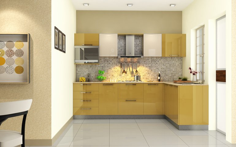 Phoenix Compact L-Shaped Kitchen