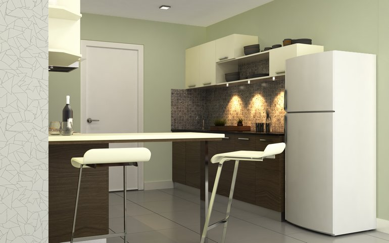 small parallel kitchen design buy robin sturdy parallel kitchen homelane india 5538