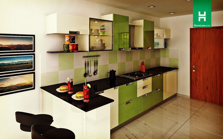 kitchen design with breakfast counter buy robin lustrous parallel kitchen with breakfast 7990