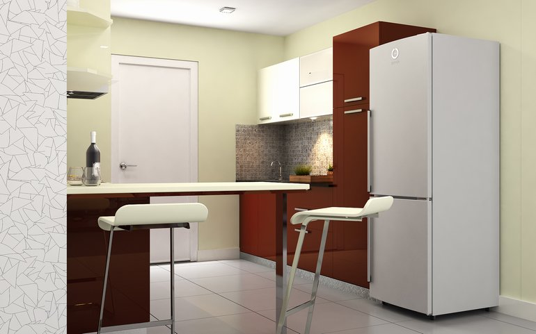 Buy heron modern parallel kitchen online homelane india for Small kitchen wall units