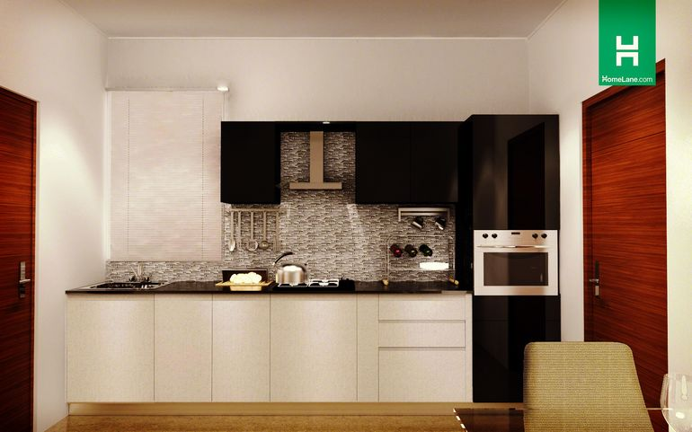 Residential interior designers for all rooms homelane india for Straight kitchen ideas