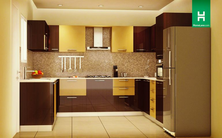 Buy Robin Rich U Shaped Kitchen Online Homelane India