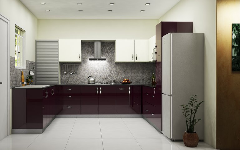 Condor Minimalist U-Shaped Kitchen