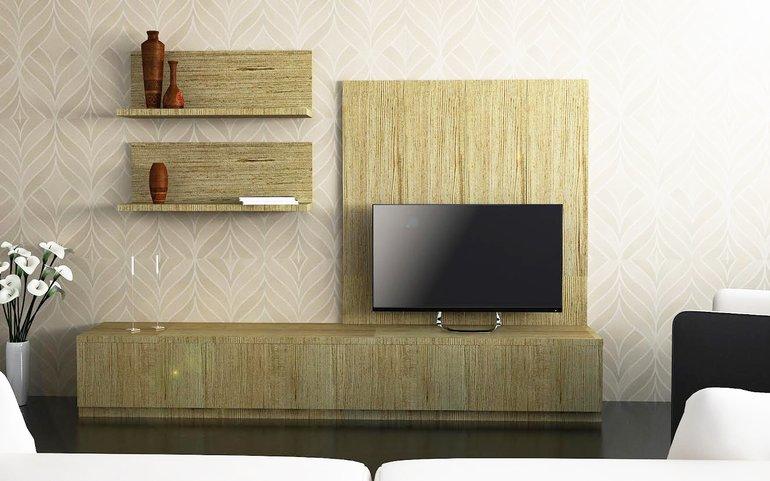 Buy Petrel Rustic Entertainment Unit Online Homelane India