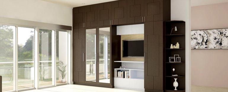 Wardrobes interior designers in bangalore homelane - Budget interior designers in bangalore ...