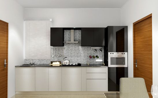 Tailor made kitchens functional and stylish kitchens for Straight line kitchen designs